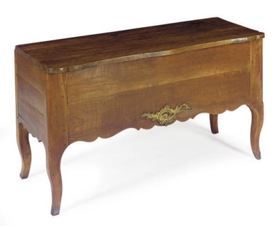 A FRENCH PROVINCIAL GILT-METAL