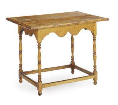 A CHERRYWOOD SIDE TABLE,