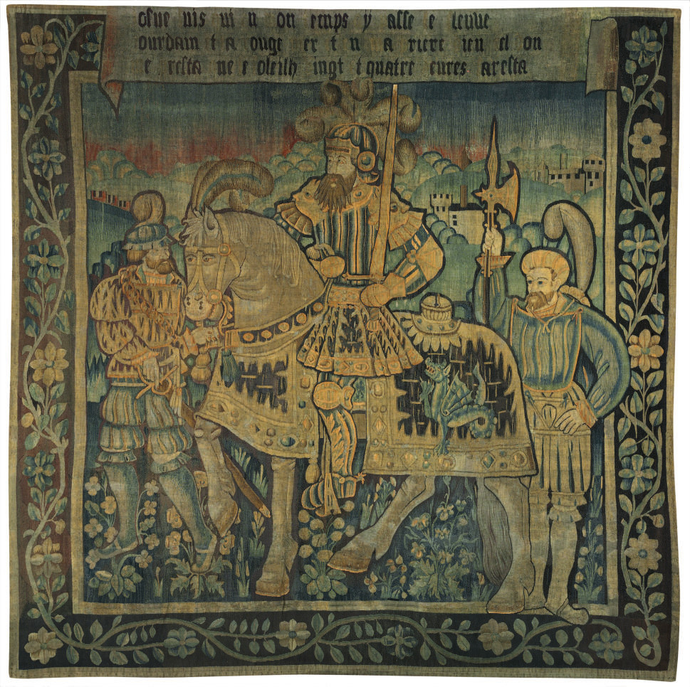 A FRENCH HISTORICAL TAPESTRY