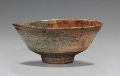 A Stoneware Tea Bowl (Chawan)