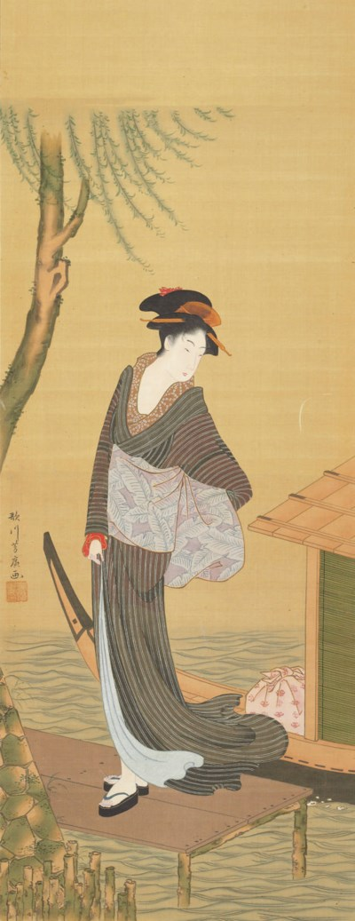 Utagawa Yoshihiro (Fl. early 1