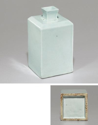 A White Porcelain Quadrangular