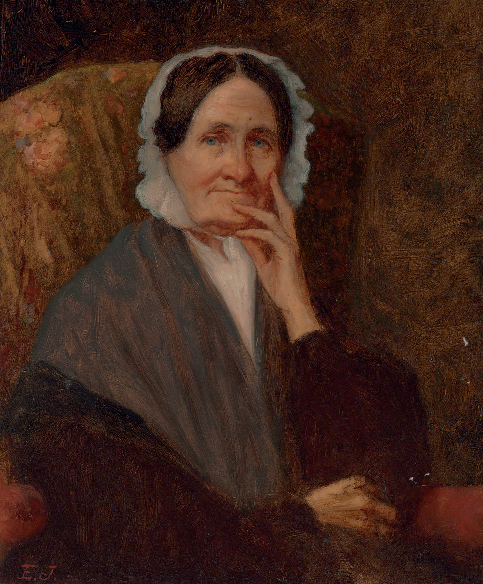 Portrait of Mrs. Cross