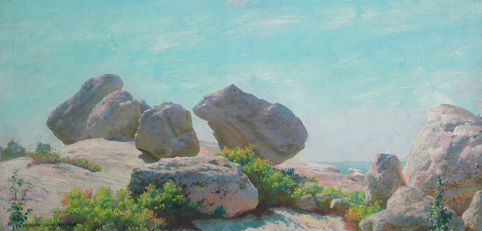 Boulders on Bear Cliff (The Conference)