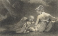 L'Innocence: A woman and a sleeping cupid