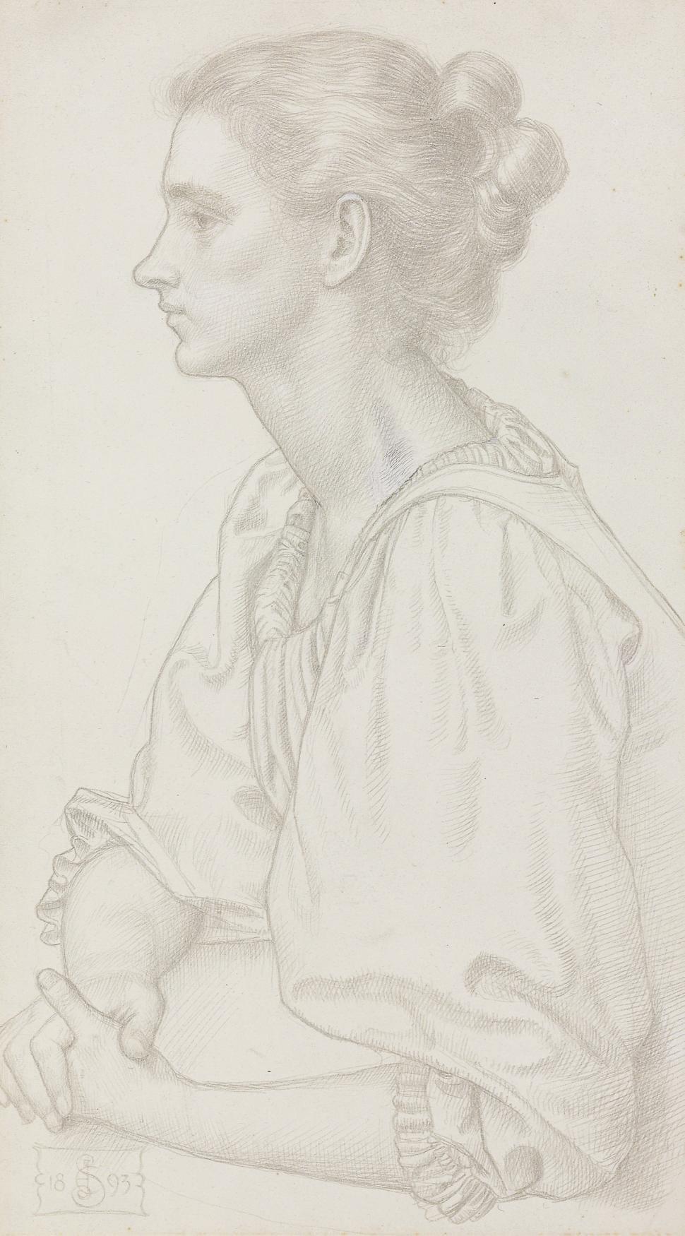 Portrait of  Anna Elizabeth Baker