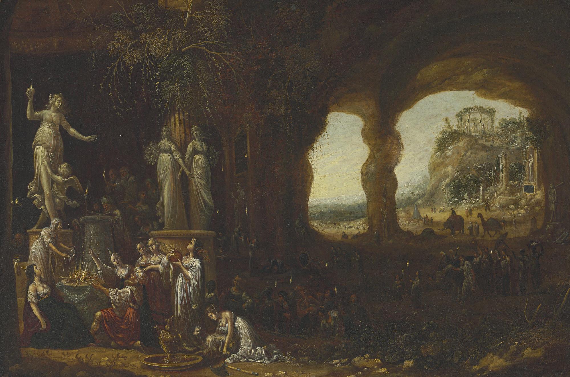 Solomon Sacrificing to the Idols