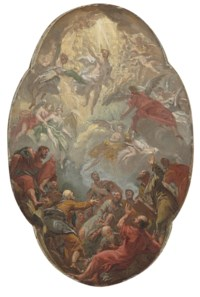 The Ascension of Christ, a modello