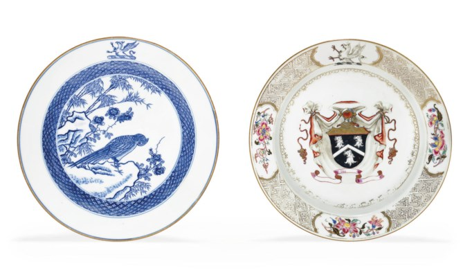 TWO PEERS SOUP PLATES