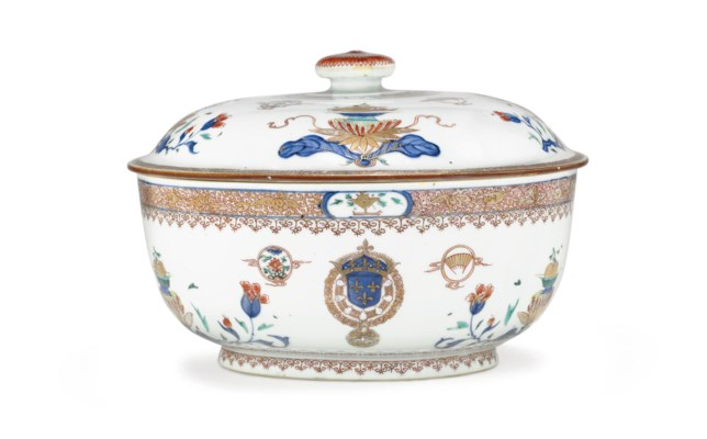 A FRENCH ROYAL ARMORIAL TUREEN