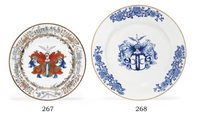 A DUTCH ARMORIAL GRISAILLE AND