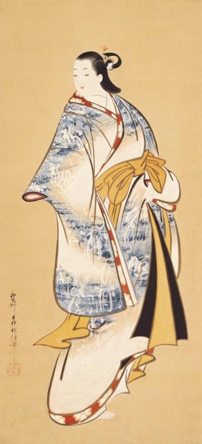 Matsuno Chikanobu (fl. 1716-35