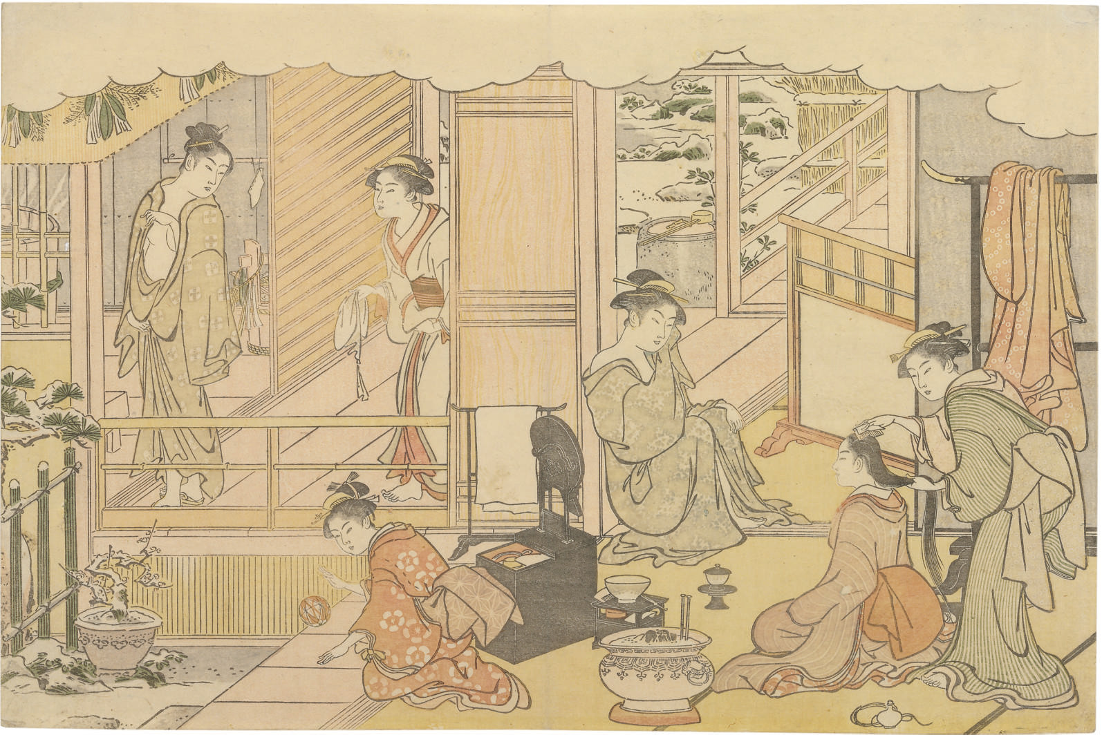 Saishiki mitsu no asa (Colors of the triple dawn)
