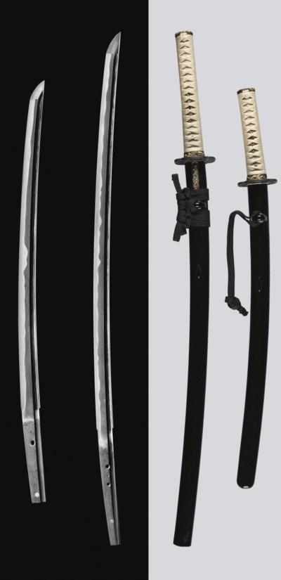 A Mounted Daisho