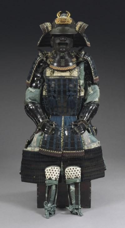 A Momogi Do Suit of Armor