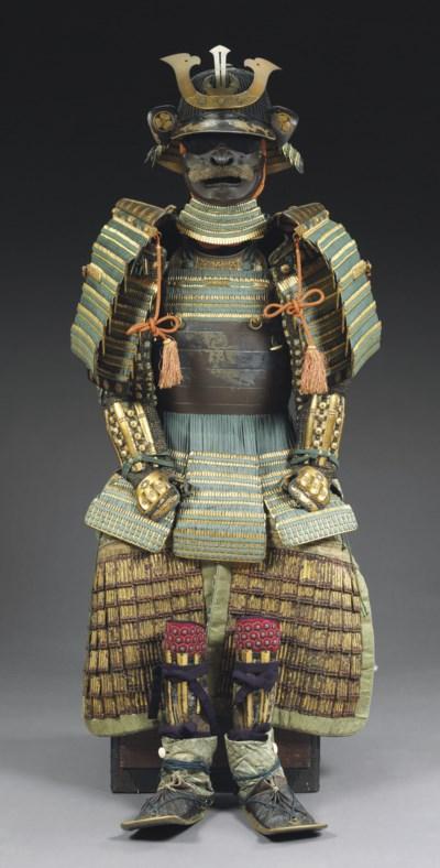 A Nimai Okegawa-Do Suit of Arm