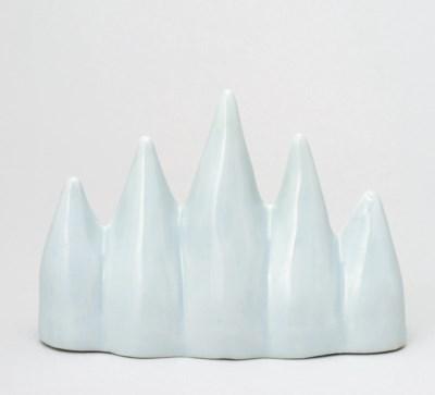 A White Porcelain Brush Rest