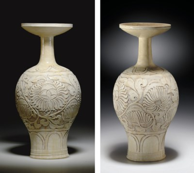 A VERY RARE CIZHOU CARVED BALU