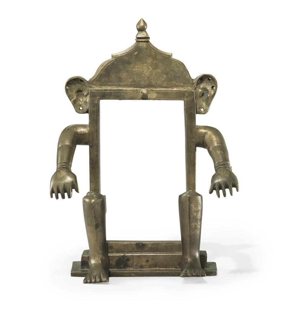 A bronze figure of the Supreme