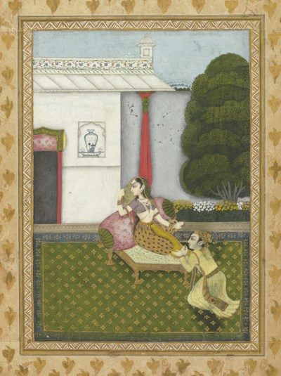 An illustration from a Ragamal