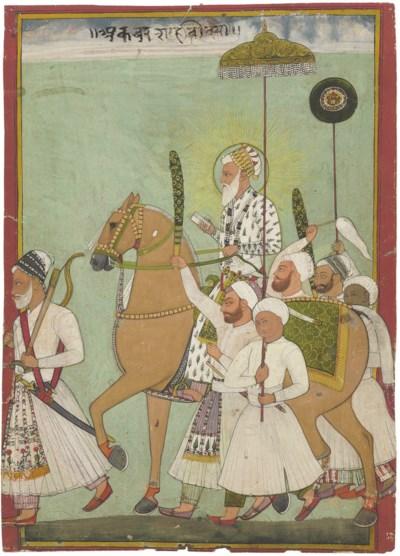 An equestrian portrait of Empe