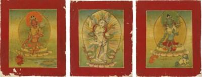 Ten Tsaklis depicting various