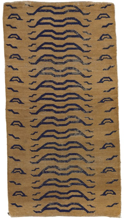 A tiger rug