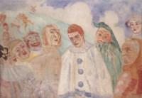 Le désespoir de Pierrot (Pierrot le jaloux)