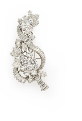 BROCHE DIAMANTS, PAR BOUCHERON