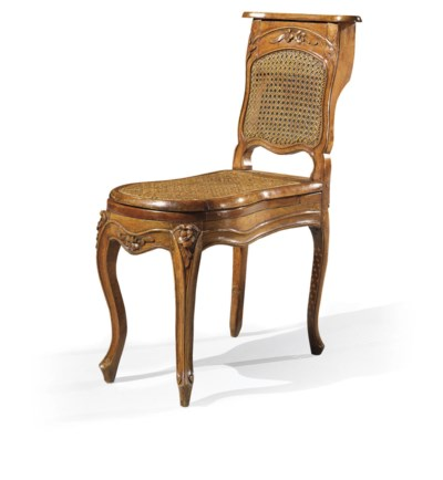 CHAISE DE COMMODITE D'EPOQUE L