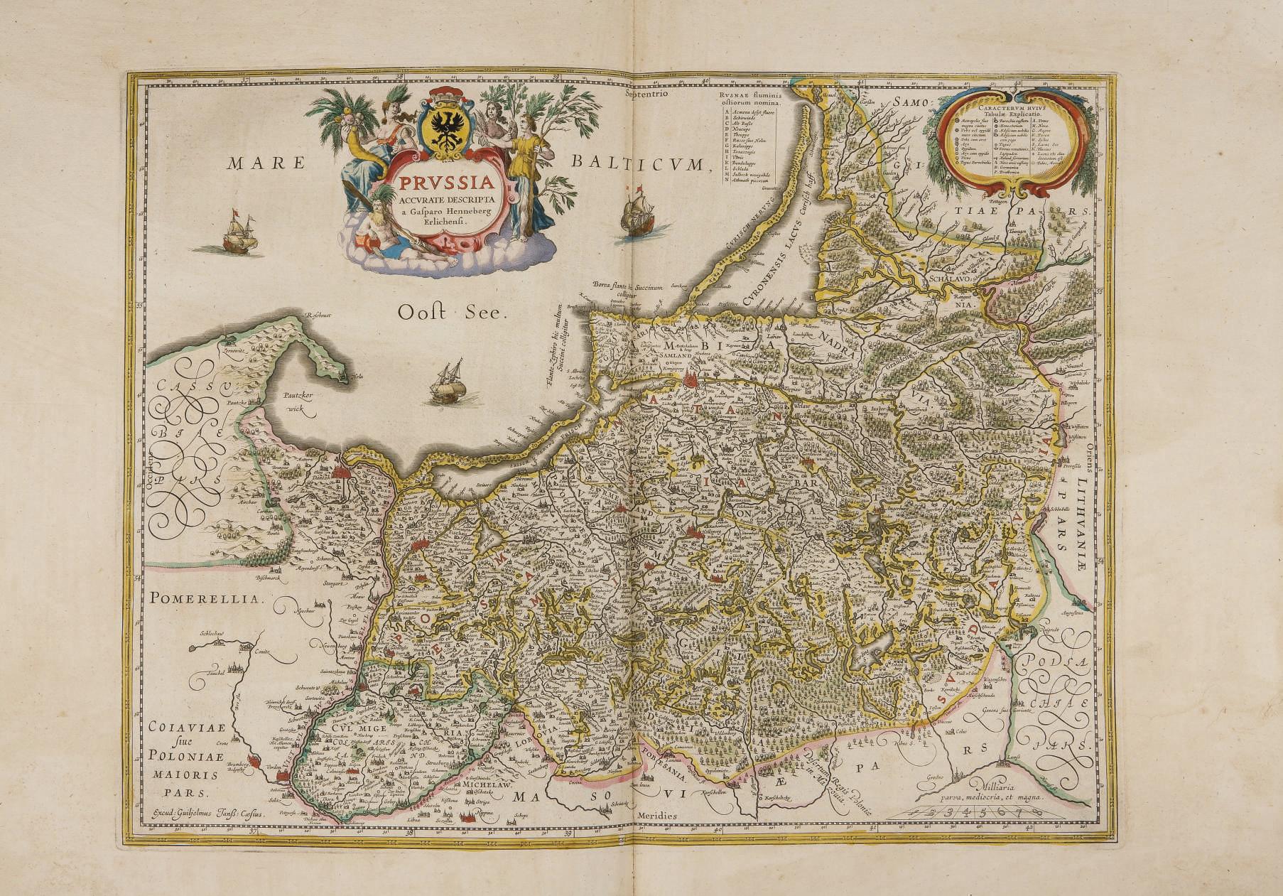 BLAEU, Willem (1571-1638) & BLAEU, Jan (1596-1673). Atlas Mayor, ò Geographia que contiene las Cartas, y Descripciones de partes orientales de Europa. [Volume II seul] . Amsterdam: Blaeu, [1658-1672].