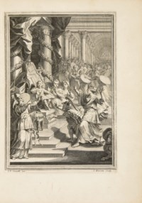 RACINE, Jean. Athalie tragedie. Tirée de l'Ecriture sainte. Paris: Denys Thierry, 1691.