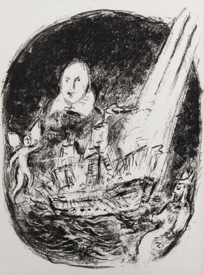 [CHAGALL] -- SHAKESPEARE, Will
