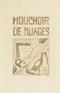 [GRIS] -- TZARA, Tristan (1896-1963). Mouchoir de nuages. Paris: Éditions de la Galerie Simon, 1925.