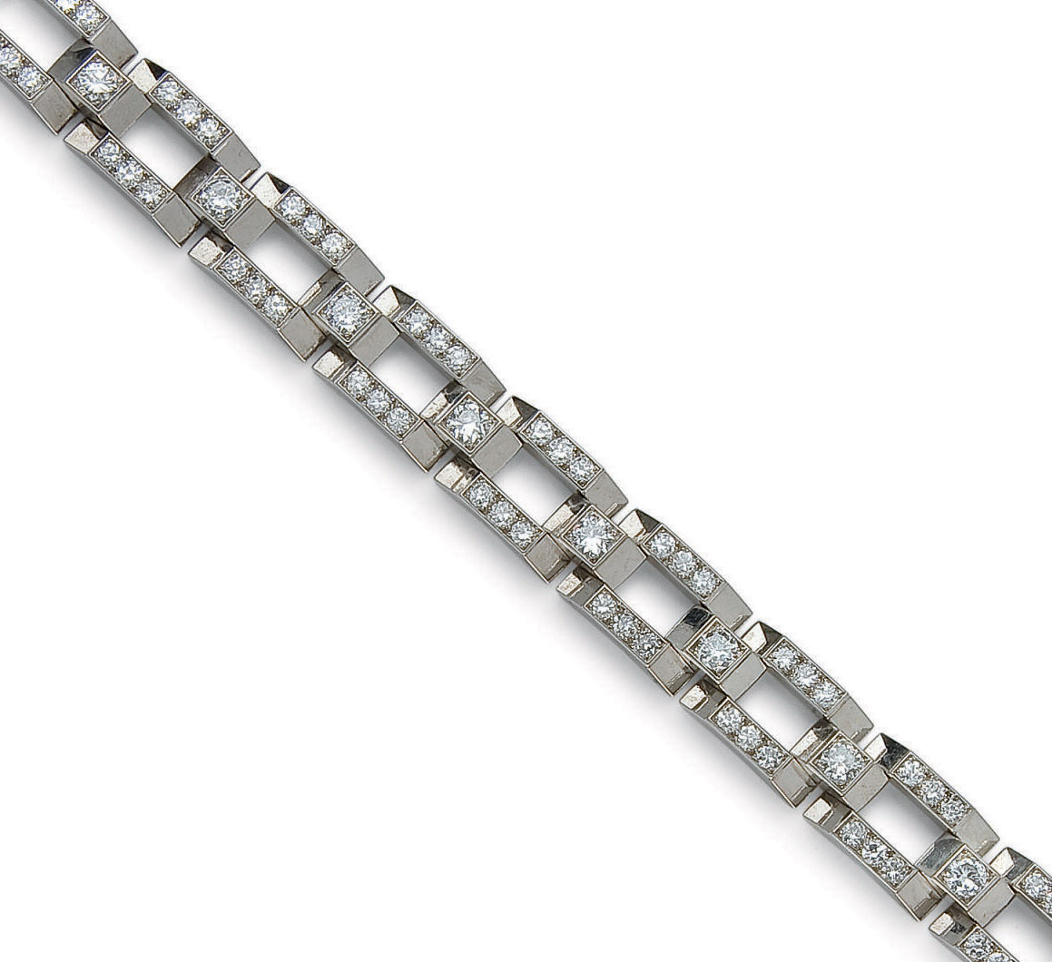 BRACELET TANK DIAMANTS