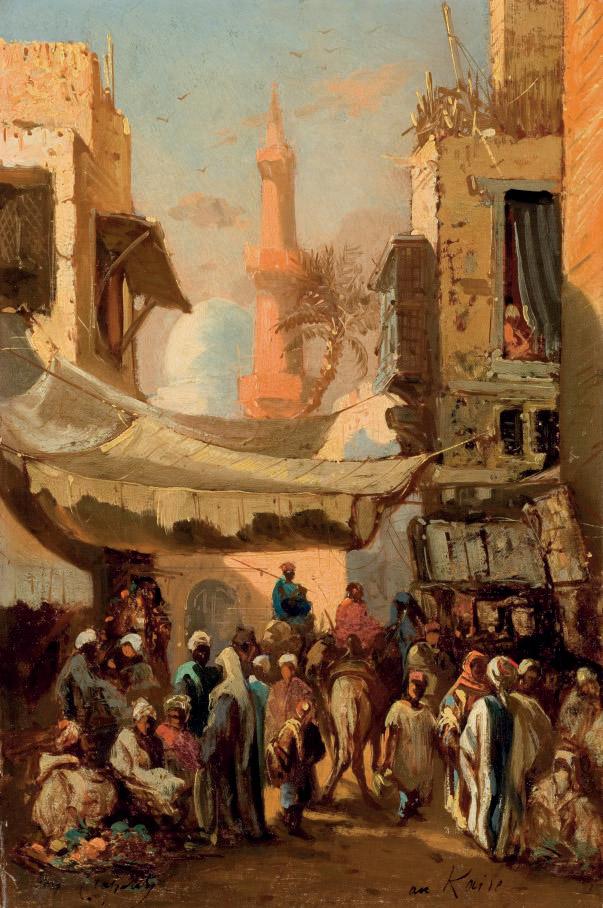 Rue au Caire
