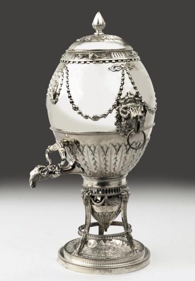 An English George III silver t