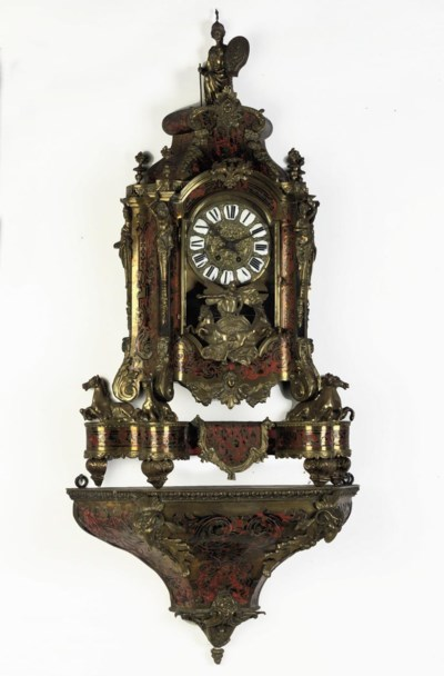 A LARGE GILT-BRONZE MOUNTED, T