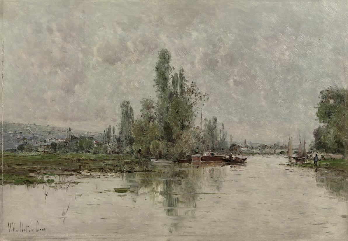 Bords de la Seine-Environs de Vernon: The River Seine near Vernon, France