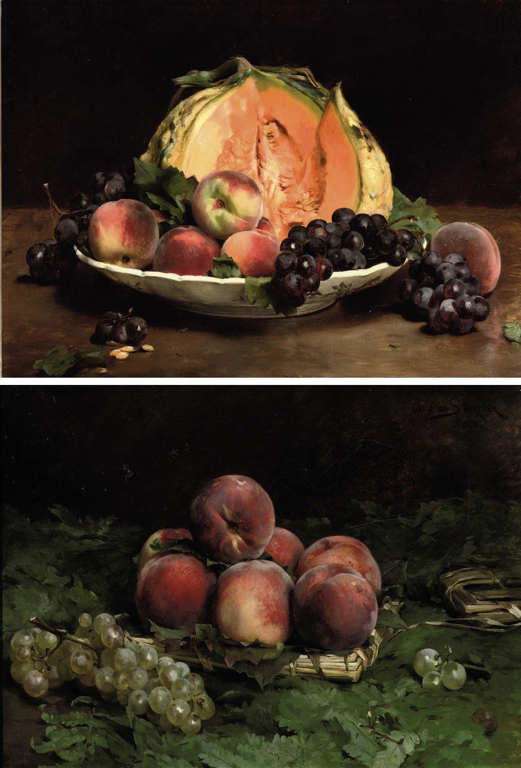 Pêches du Midi; Fruits d'Automne