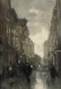 Strolling in the Spuistraat, The Hague