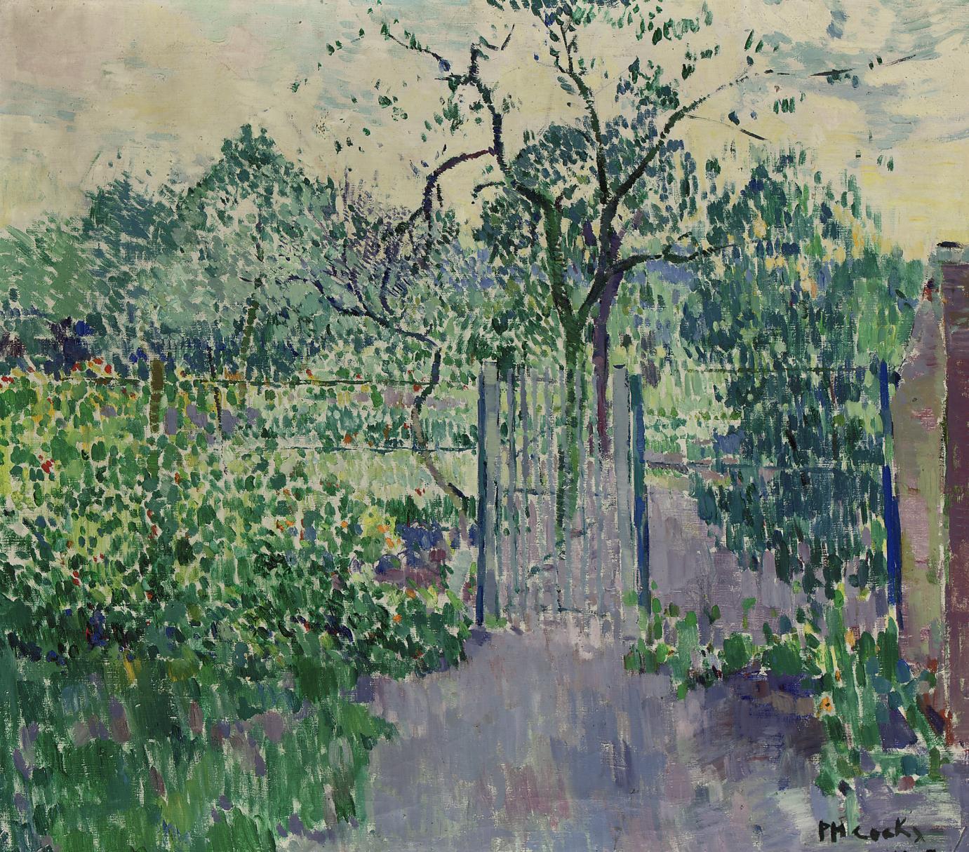 Le jardin: The Garden
