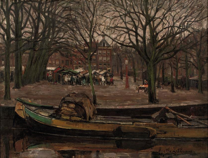 Activities on the Amstelveld, Amsterdam