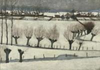 Bij Amerongen: Amerongen in winter