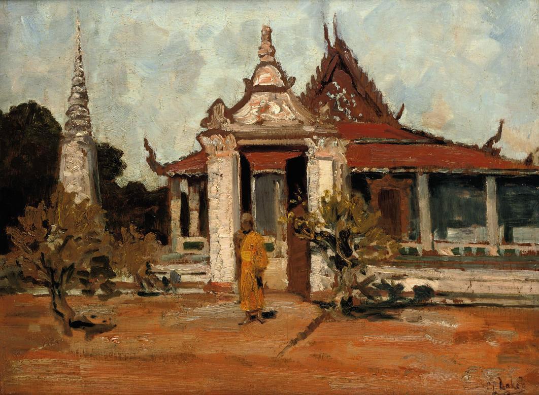 Bhoeddistische monnik Pnom Penh - Buddhist monk