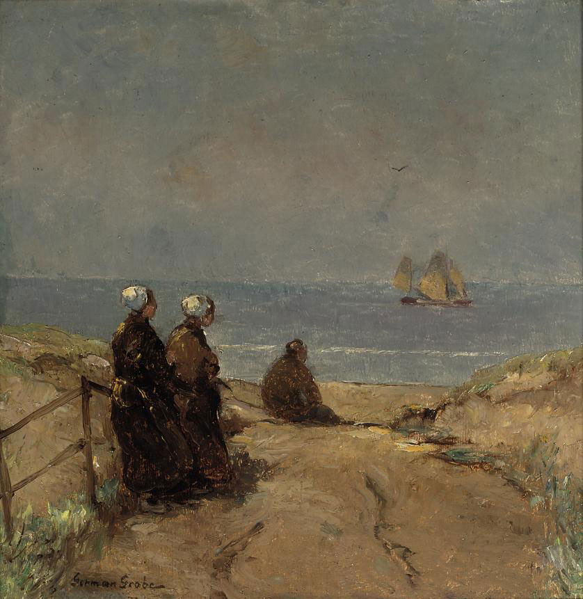 Figures in the dunes