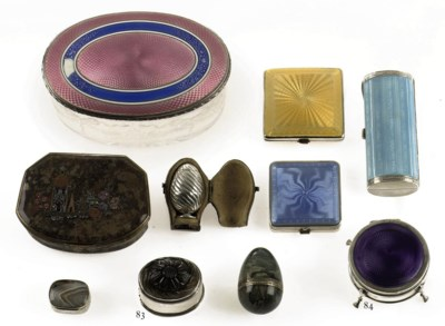 A collection of five hardstone