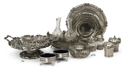 A collection of Austrian silve
