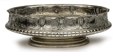 A large Austrian Royal silver