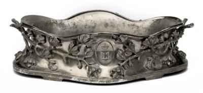 An Austrian Royal silver jardi